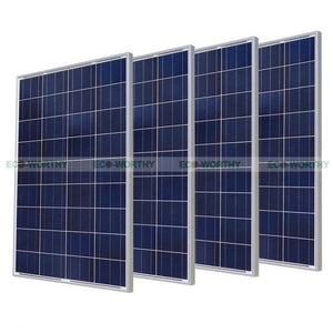 100w Polycrystalline Solar Panel For 18v Battery Off Grid Solar For Home System
