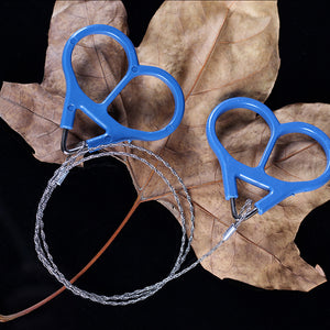 Survival Wire/Saw Stainless Steel Ring Scroll Travel Outdoor Camping Hunting
