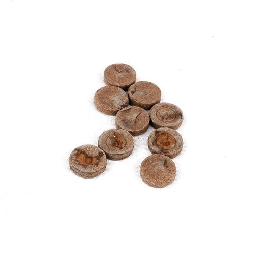 20pcs 25mm Nursery Seedling Cultivation Block, Peat Pellets for Garden Flowers Planting And Seedling