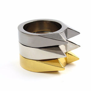 Self Defense Stainless Steel Safety Survival Ring for Men and Women