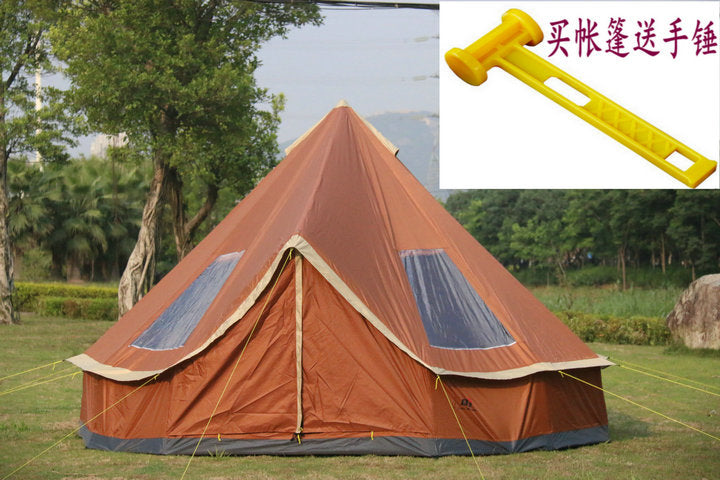 High Quality 5-8 Person Travel Hiking Canopy Beach Outdoor Camping Tent