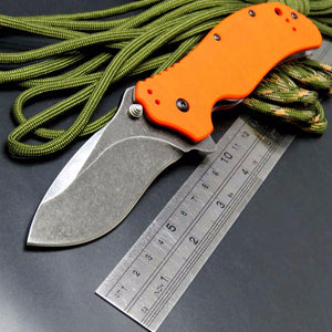 0350BW Folding Handle Bearing G10 Tactical Camping Hunting Outdoor Pocket Knife