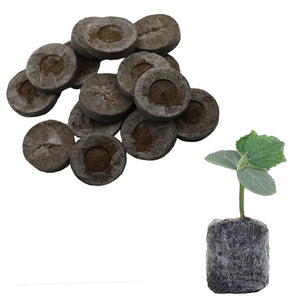 8pcs Nursery Soil Block Garden Flowers Seedlings Peat Cultivate Block Seed Migration Tools