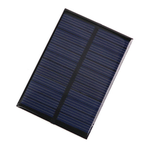 6V 0.6W Solar Power Panel Module DIY Small Cell Charger for Light Battery Phone Toy Portable Charger
