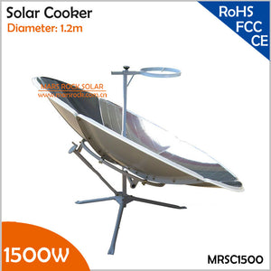 Portable Parabolic Solar Cooker With 1500w Efficiency
