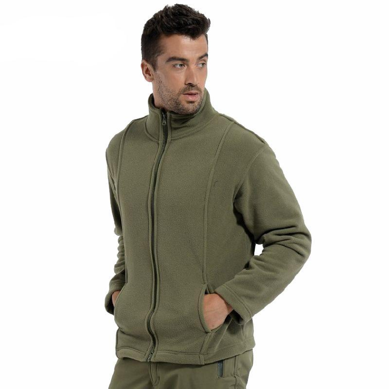 Tactical Stand Collar Autumn Winter Thermal Cloth Outdoor Hunting Military Sports Hiking Jacket