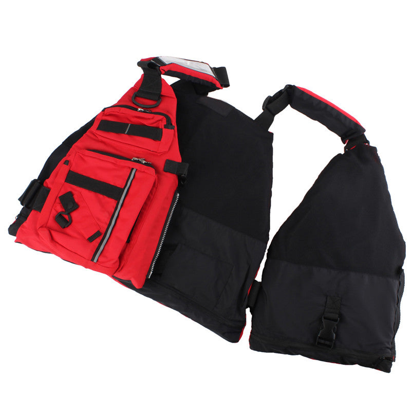 Outdoor Sports Safe Fishing Life Jacket Vest With Multiple Pockets For Surfing Fishing Kayak Boating