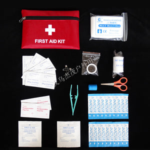 12 Types Emergency Survival Mini Family Travel First Aid Kit Outdoor Medical Bag