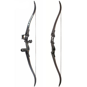 54inch Recurve Bow 30-50lbs Riser Length 17inch American for Archery Outdoor Sport Hunting Practice
