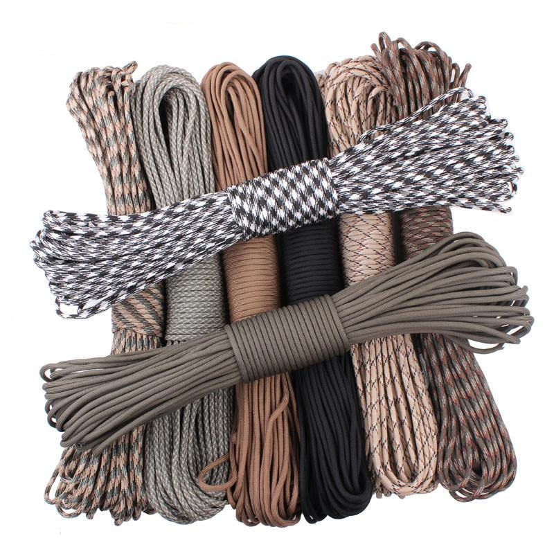 Paracord 550 Parachute Rope 7 Core Strand 100FT For Camping And Hiking