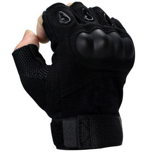 Half Finger Military Airsoft Hunting Assault Combat Tactical Gloves