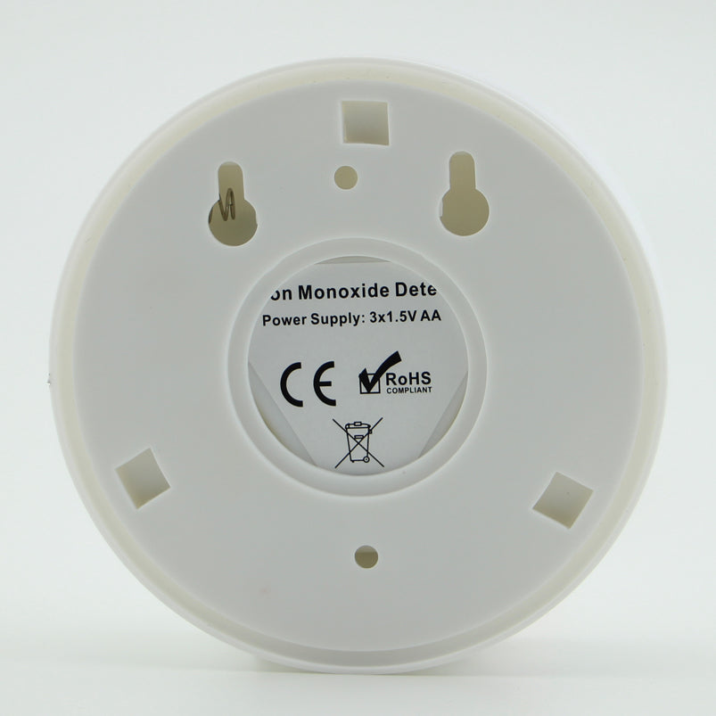 LCD Carbon Monoxide (CO) Poisoning Sensor Standalone Built-in 85dB Siren Sound Independent Warning Alarm System