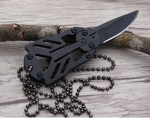 Mini Pocket Knife Folding Knife Paratroopers Survival Outdoor Camping