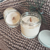 Almond Crescent Candle
