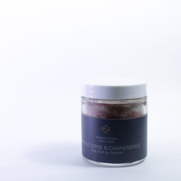Grey Clay & Cranberry Mask