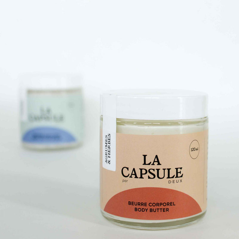 Beurre Corporel Agrumes & Herbes – Collection La Capsule