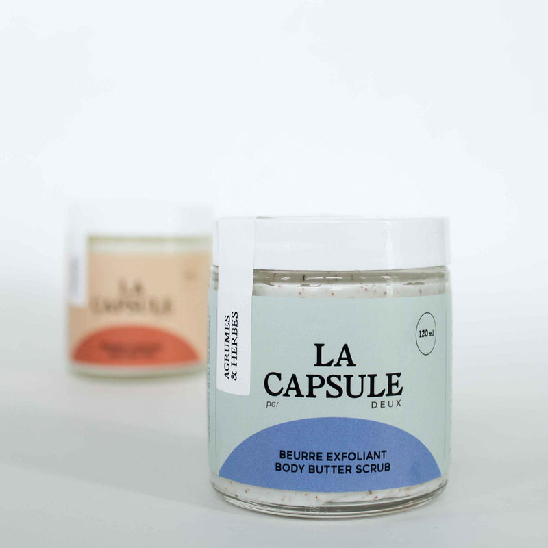 Exfoliant Corporel Agrumes & Herbes – Collection La Capsule