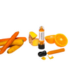 Food Crayon Carotte, Orange & Gingembre