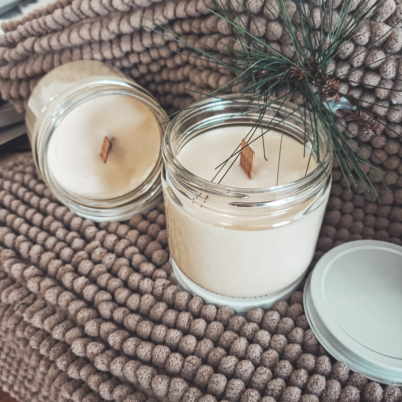 Handmade soybean candle (8oz)