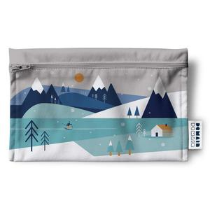 Duo of reusable bags - Winter Sports