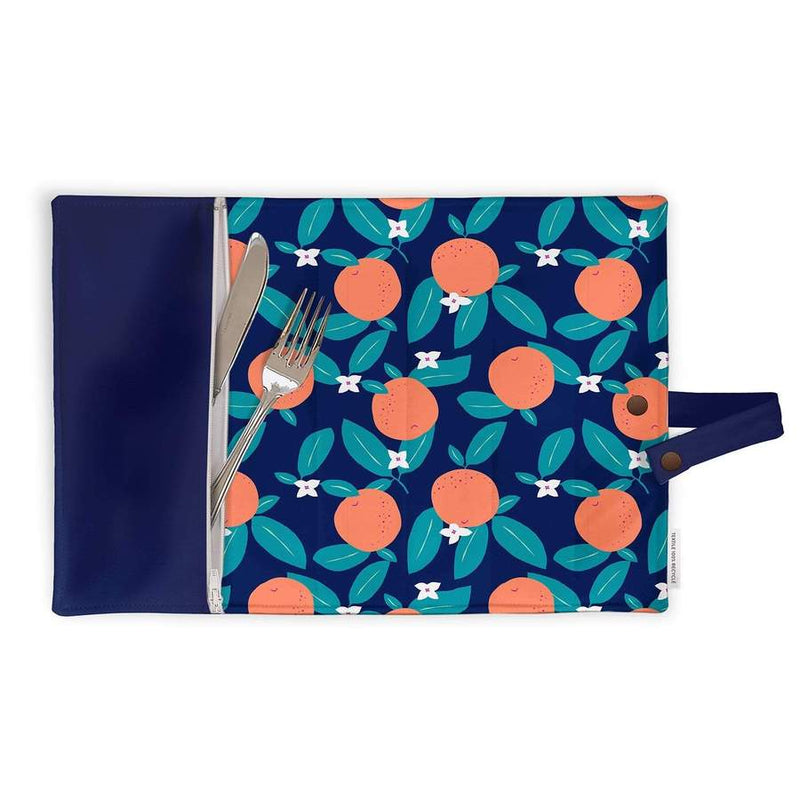 Lunch box placemat - Citrus fruits