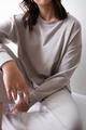 Mary Boxy Longsleeves LIGHT GREY / GRIS PÂLE