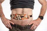 "3rd Edition ""New Patriotic Camo""  Premium Tuck-Away PD Belt"