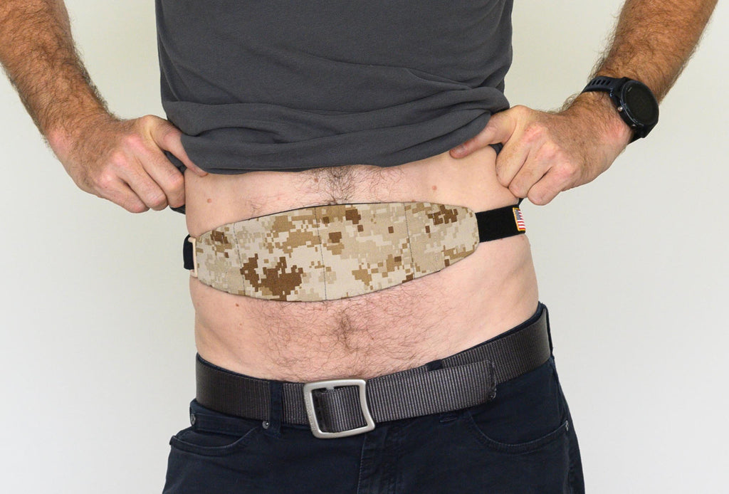 "A) Second Limited Edition ""Desert Camo2"" Tuck-Away PD Belt"