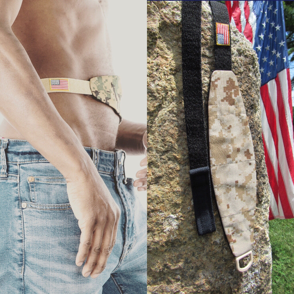 "Second Limited Edition ""Desert Camo2"" Tuck-Away PD Belt"