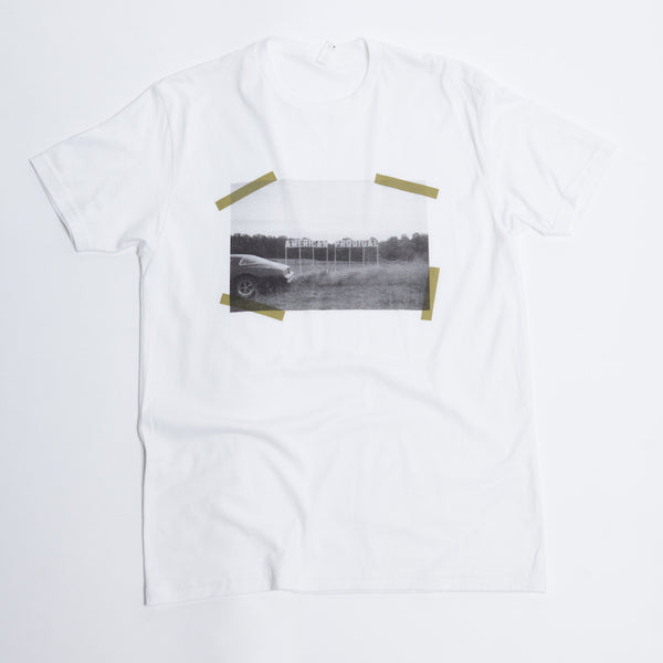 "White David Crowder ""American Prodigal"" T-shirt."