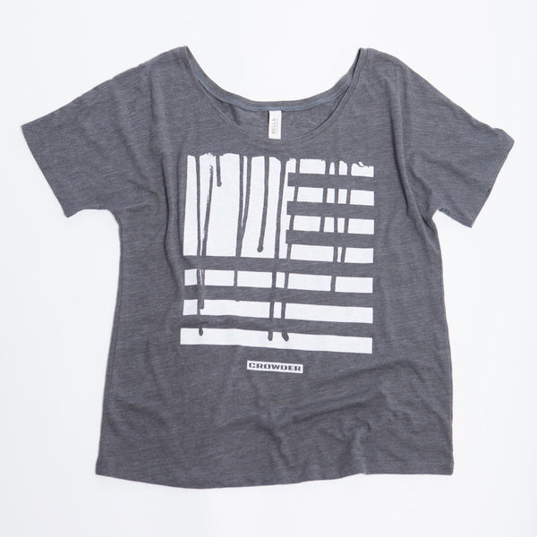 "David Crowder ""Drip Flag"" Women's T-shirt"