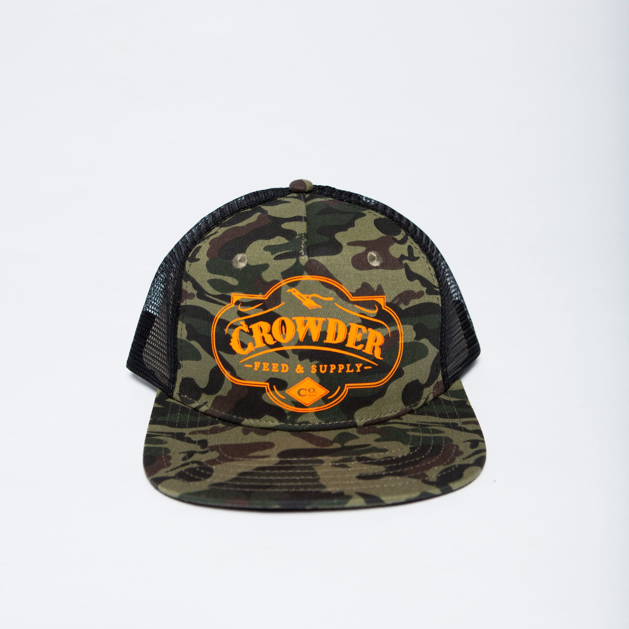 5cd20e29 CROWDER MUSIC | Crowder Feed & Supply Co. Trucker Hat - Camo ...