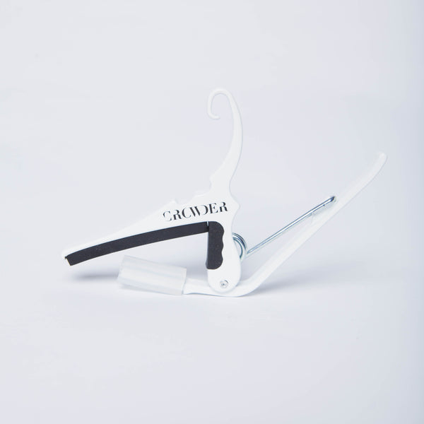 White Custom Crowder Guitar Capo