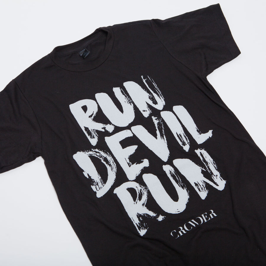 Black Crowder Run Devil Run T-shirt
