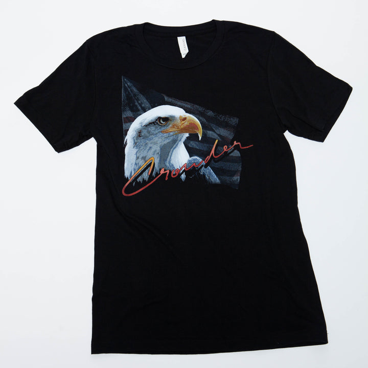 Vintage David Crowder American Eagle t-shirt.