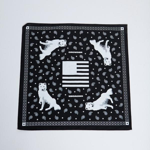 David Crowder american prodigal bandana with kenny rodgers.