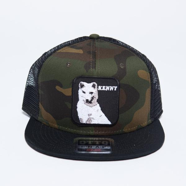 Crowder Music Kenny Rodgers Camo Trucker Hat