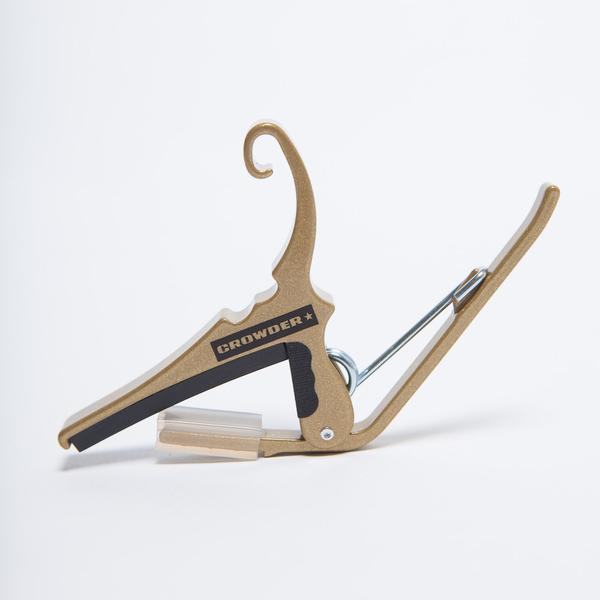 Crowder Music Custom Gold Kyser quick-change guitar capo