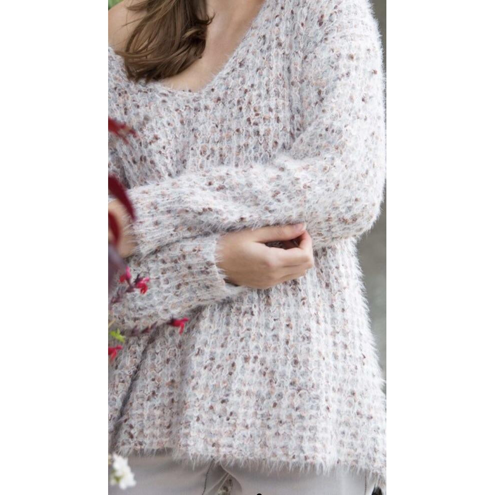 Sprinkle VNeck Sweater