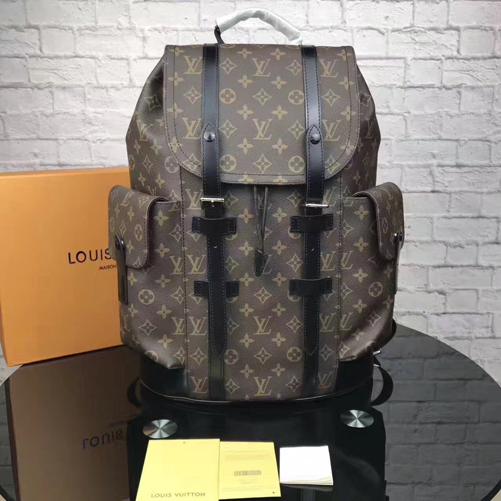 LV Backpack Brown Pattern - Grandeur Lux