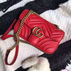 Gucci Marmont Red