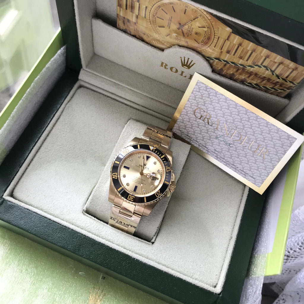 Submariner FULL GOLD - Grandeur Lux