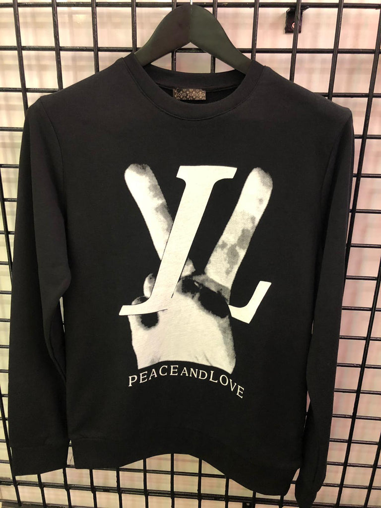 Louis Vuitton Peace Sweater Black