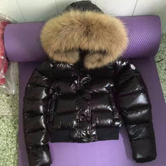 Moncler Womens Shined Fur - Grandeur Lux