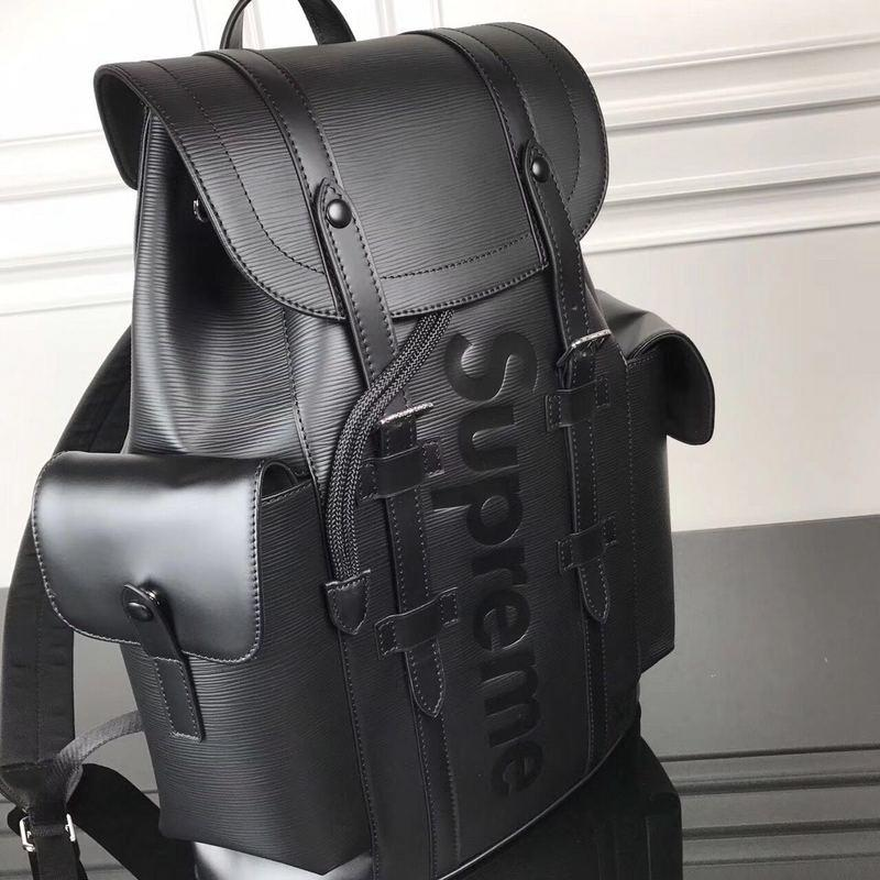 LV x Supreme Backpack black - Grandeur Lux