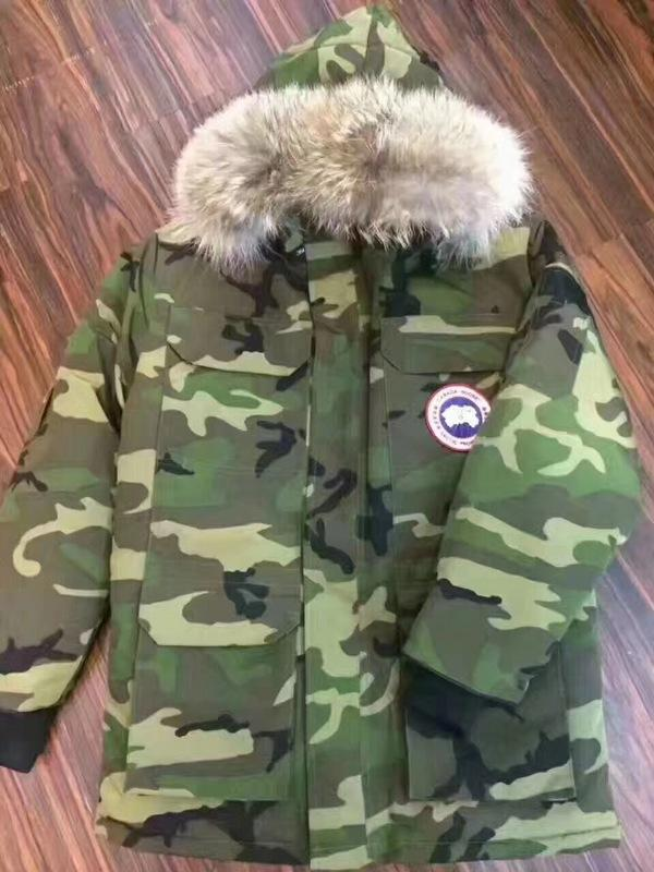 Canada Goose Long Jacket Army Green