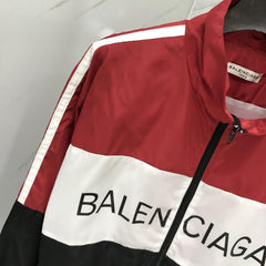 Balenciaga Windbreaker RED - Grandeur Lux