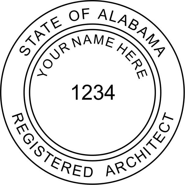 Alabama Architect - Prostamps