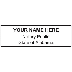 Alabama Notary Stamp and Seal