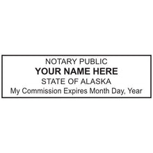 Alaska Notary Stamp and Seal